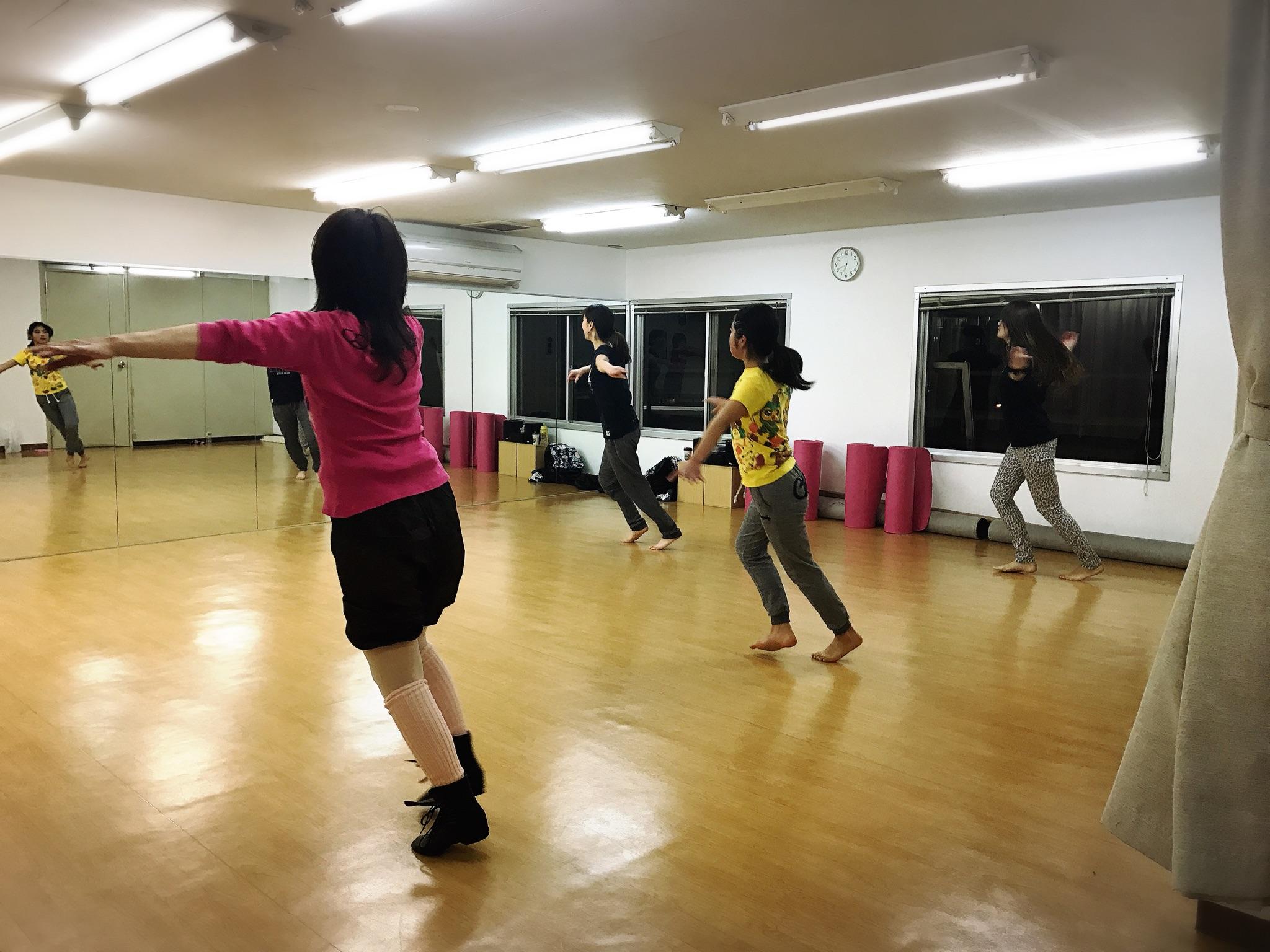 梅田ジャズダンス入門クラス